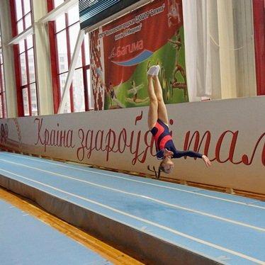 Первенство Беларуси по прыжкам на батуте проходит в Могилеве