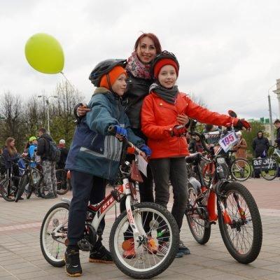 Могилевчане присоединились к велопробегу «Велосипедная весна. Могилев-2021. Победная»