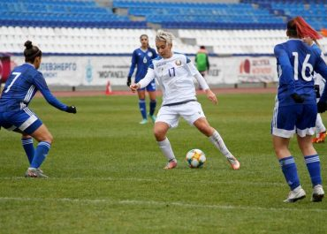 Сборная Беларуси выиграла первый матч квалификации ЧЕ УЕФА 2021/22 по футболу