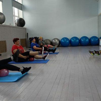 Группа здоровья «Кому за 60» функционирует на базе женского фитнес-клуба в Могилеве